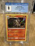 A8) Arcanine 6/18 Pokemon Detective Pikachu Holo Rare NM ConditionCGC Graded 9