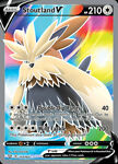 x1 Stoutland V - 157/163 - Full Art Ultra Rare Pokemon SS05 Battle Styles M/NM