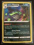 Galarian Weezing [042/072] Holo Rare, Shining Fates, Mint/NM, Pokemon TCG