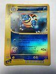 Pokemon Expedition Blastoise 36/165 Rare Rev Holo Reverse Foil 2002