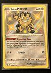 Pokemon Shining Fates Galarian Meowth SV086/SV122 Mint Condition