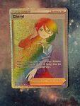 Cheryl Rainbow Rare Trainer Full Art 173/163 Battle Styles NM/M