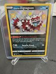 """Galarian Zigzagoon"" SV078/SV122 Pokémon ""Shining Fates"" TCG Card - MINT!!! RR71"