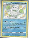 Galarian Darmanitan - SV024/SV122 - Shining Fates - Shiny - Pokémon TCG Card -NM