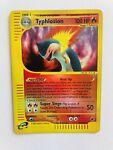 Pokemon WotC Expedition Rare Reverse Holo Typhlosion #65/165 MP