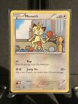 Pokemon TCG Black And White Meowth Promo Card Number 35 NM BW35
