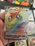 Pokemon Victini VMAX Rainbow Rare Secret Rare Battle Styles 165/163 NM/Mint Card
