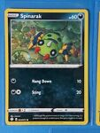 Spinarak 043/072 & 2x Nickit 047/072 Pokemon card Shining Fates common NM