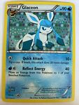 Pokemon Card Glaceon Black Star Promo BW90 PLAYED/EXCELLENT Holo PROMO TCG!!!!!!