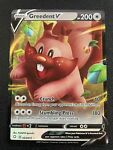Pokemon TCG Greedent V (Ultra Rare) Near Mint Shining Fates 053/072