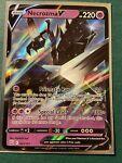 Pokemon Ultra Rare Holo Foil Necrozma V Card 063/163 Battle Styles
