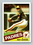 1985 Topps Baseball Card #90 Rich Gossage Padres