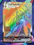 Pokémon TCG Tapu Koko VMAX Sword & Shield - Battle Styles 166/163 Holo Secret R…