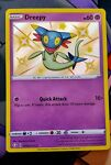 Pokémon TCG Dreepy Shining Fates SV060/SV122 Holo Shiny Holo Rare