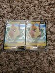 Two Morpeko V ULTRA RARE 037/072 Shining Fates Pokemon TCG Card Near Mint