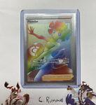 Phoebe Full Art 175/163 Secret Rainbow Rare Battle Styles Pokemon TCG Near Mint
