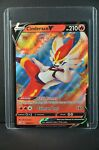 POKEMON TCG CARD Cinderace V 018/072 Shining Fates 2020 Ultra Rare - NM