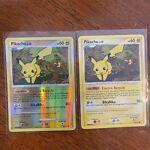 Pikachu Reverse & Non Holo 94/123 Diamond & Pearl Mysterious Treasures Pokemon