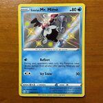 Galarian Mr. Mime Shiny Vault SV020 Ultra Rare - Pokemon Shining Fates