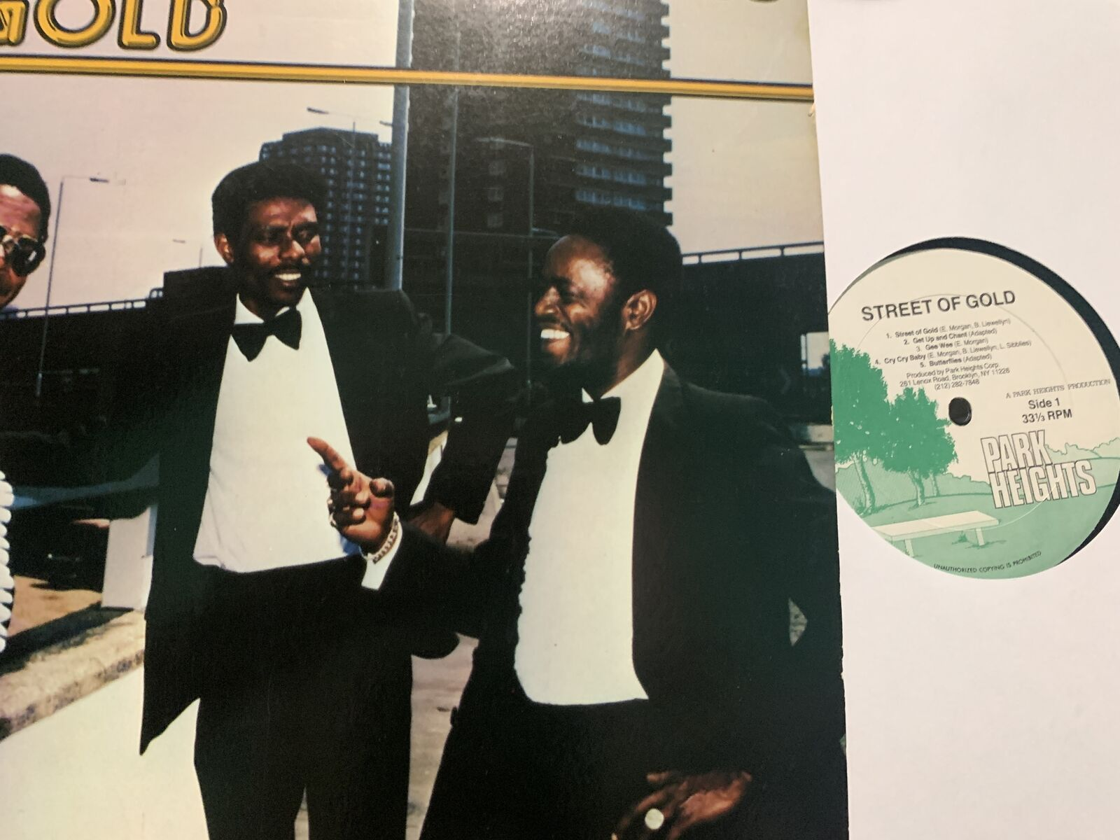 HEPTONES -STREET OF GOLD /GET UP & CHANT /BUTTERFLIES /GEE WEE/PARK HEIGHTS 1981
