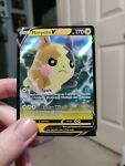 Morpeko V 037/072 Shining Fates - NM Ultra Rare Full Art Pokemon Card