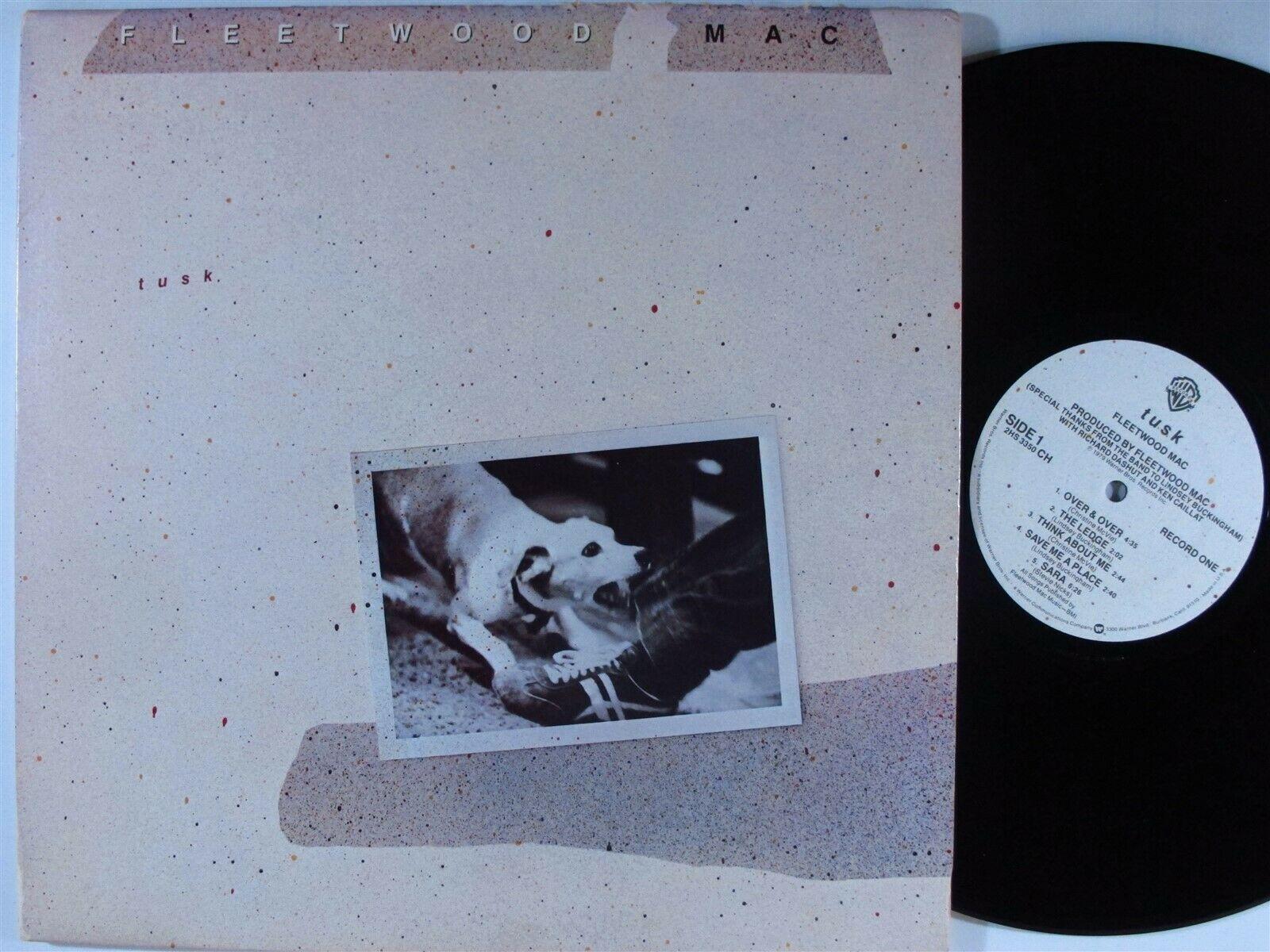 FLEETWOOD MAC Tusk WARNER BROS 2xLP VG+/VG++ embossed cover