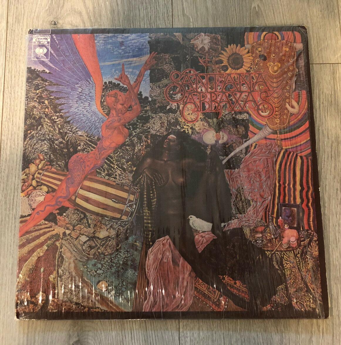 Santana Abraxas LP Vinyl Record Columbia Stereo KC 30130 Gatefold Shrink
