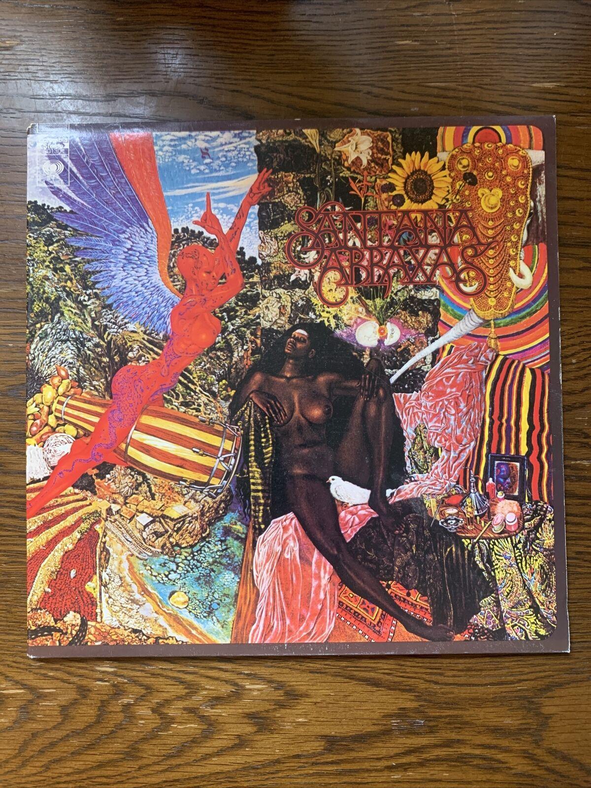 Santana Abraxas Columbia Stereo KC30130 Gatefold Vinyl Record EX-/EX- Nice!