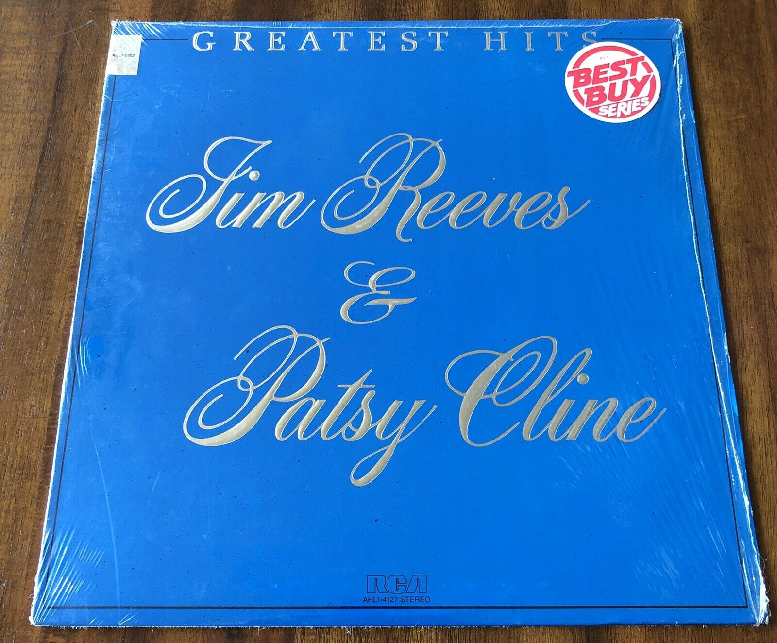 """Jim Reeves, Patsy Cline Greatest Hits 12"""" Vinyl LP TESTED EX (In Original Wrap)"""