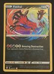 Yveltal Amazing Rare Pokemon Card - Shining Fates 046/072 - MINT Condition