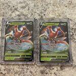 (2) KRICKETUNE V 006/163 — Mint/nm — Pokémon TCG BATTLE STYLES