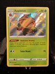 Pokemon Holo Shiny Appletun SV014/SV122 Shining Fates, mint condition!