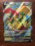 Flapple V - 143/163 - Full Art Ultra Rare Pokemon TCG SS05 Battle Styles