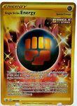 Single Strike Energy 183/163 Battle Styles Gold Secret Rare Pokemon Card NM/M