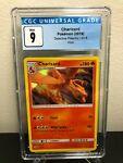 Charizard Detective Pikachu 5/18 Holo Rare CGC Graded 9 Pokemon Card Mint