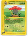 69/165 | Vileplume | Expedition | Pokemon Card | Mint