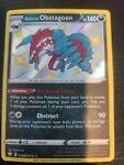 Pokemon Shining Fates Galarian Obstagoon SV080/SV122 Shiny Vault - NM/M
