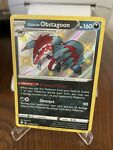 Pokemon Shining Fates Galarian Obstagoon SV080/SV122 NM Comes W/top Loader