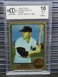 1996 Topps Finest Mickey Mantle 1968 Mickey Mantle #18 BCCG 10 C462