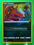 Pokemon Card Yveltal Amazing Rare 046/072 Shining Fates NM/M