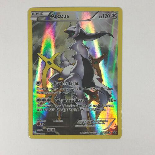 Pokémon NM FULL ART ARCEUS Card BLACK STAR PROMO XY83 Ultra Rare XY Free Ship