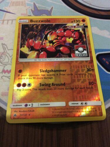 Pokemon TCG - BUZZWOLE - Pokemon League - Holo Rare - Forbidden Light 77/131 - Image 7