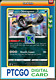 Pokemon PTCGO Galarian Obstagoon 037/073 Wicked Ruler Champion's Path In-Game