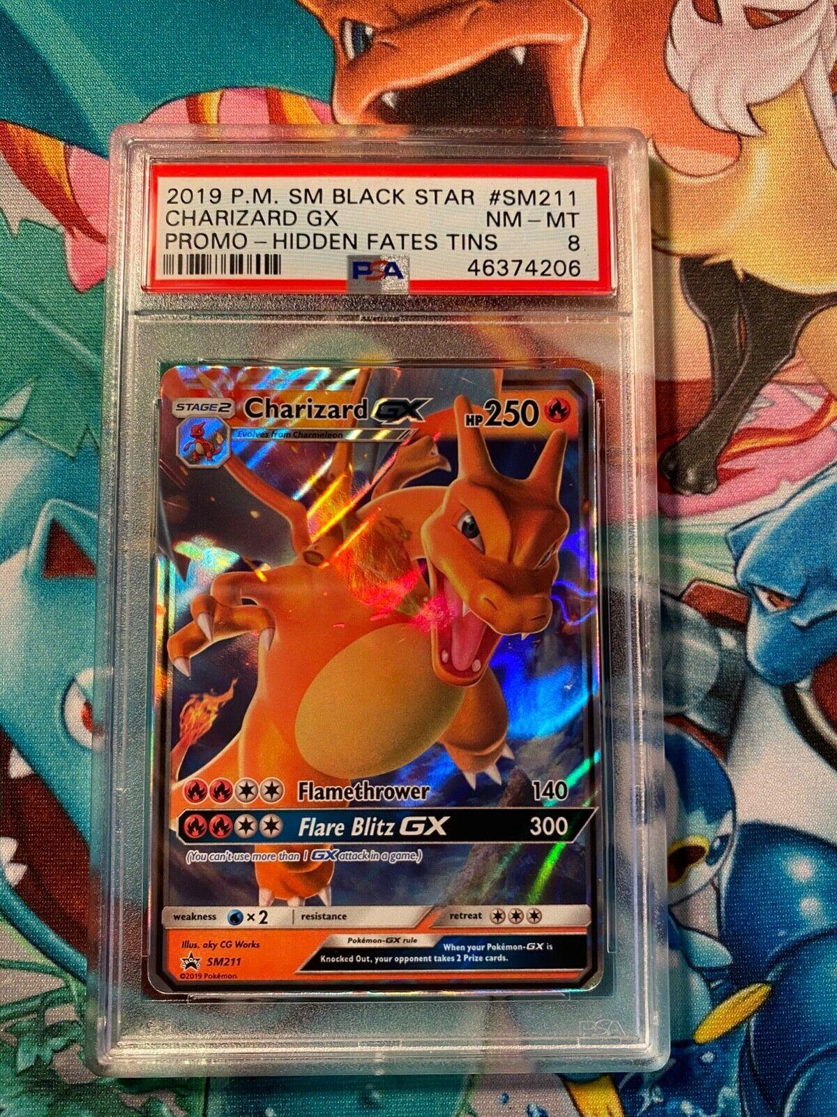 Promo Pokemon Sun /& Moon NM SM211 Charizard GX