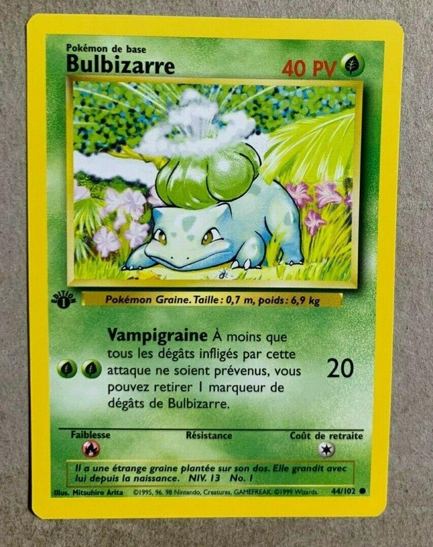 Bulbasaur Common Base Set Pokemon 44//102
