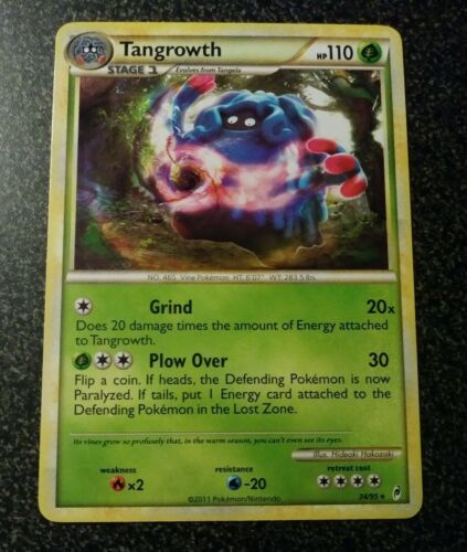 TANGROWTH Call of Legends 34//95 Pokemon Card - NM//Mint holo-foil