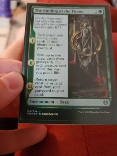 Theros Beyond Death Mtg x4 4x THB Magic The Binding of the Titans 166