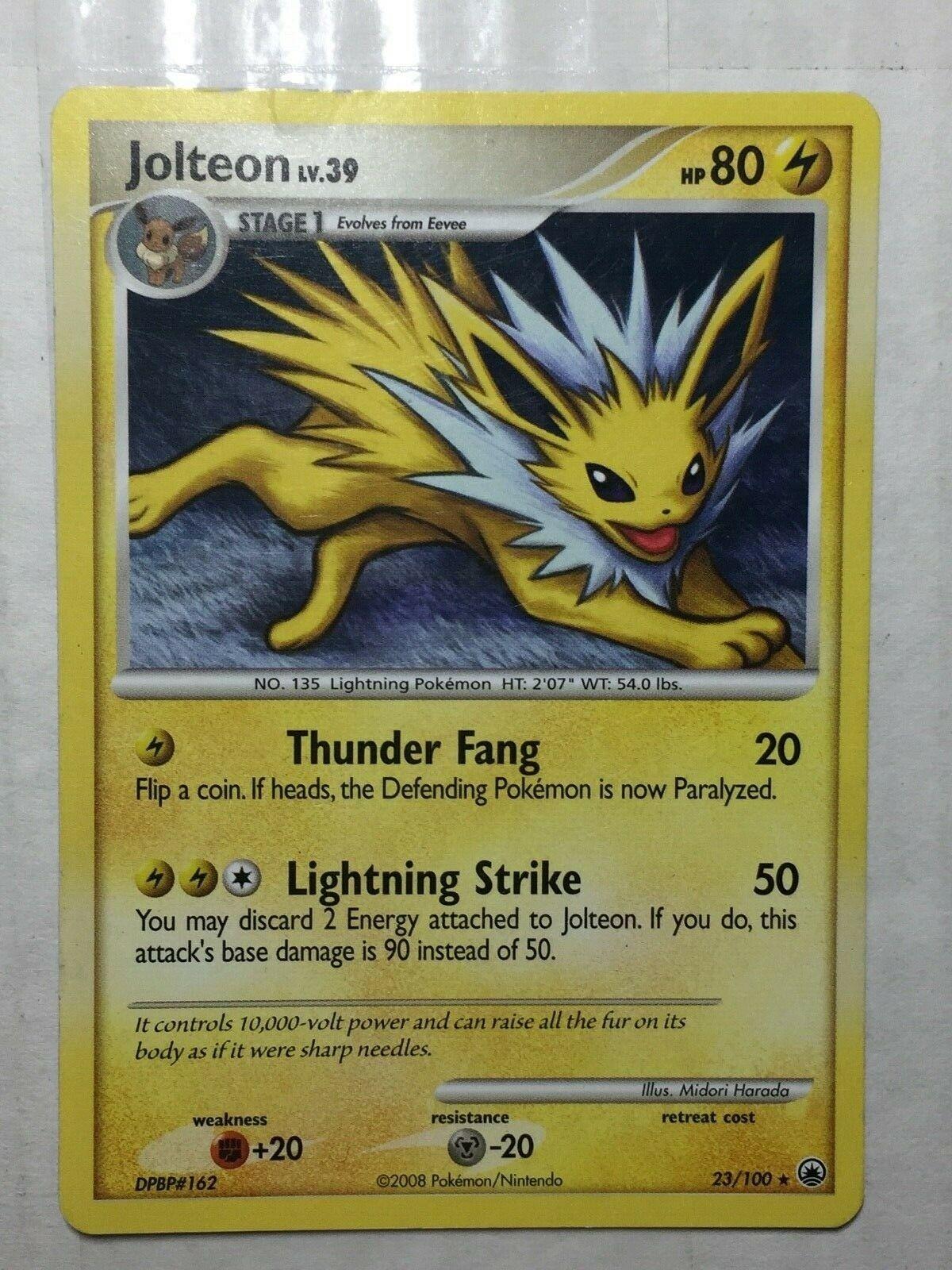 Jolteon 23//100 Majestic Dawn Pokemon Card LP Condition
