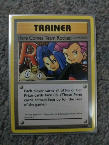 113//108 XY12 Evolutions Here Comes Team Rocket! Rare Englisch NM Pokemon