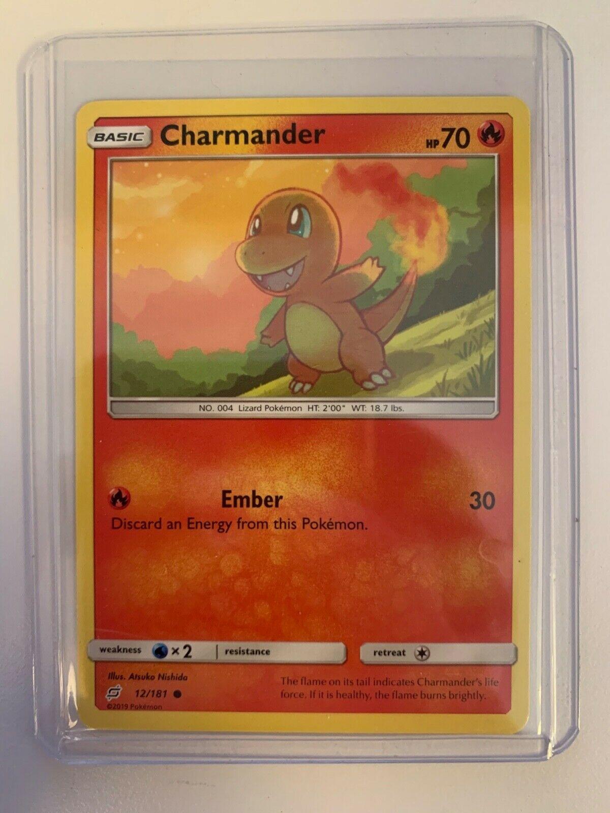 11//181 Common Pokemon SM9 Team Up M//NM English x4 Charmander